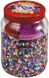 Hama strijkkralen 2020 Tub 7000 Beads And Pegboards