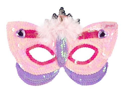 Souza Masker Prinses, lila/roze (2 stuks)