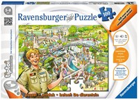 Ravensburger tiptoi® puzzel De dierentuin