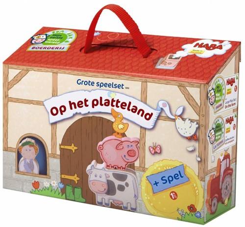 HABA Mijn eerste speelwereld - Boerderij - Grote speelset Op het platteland (Nederlands)