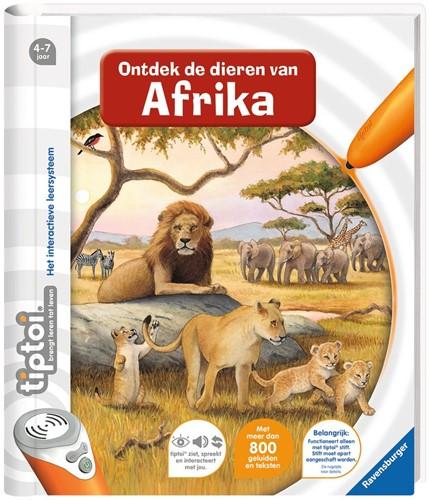 Ravensburger tiptoi boek Ontdek de dieren in Afrika