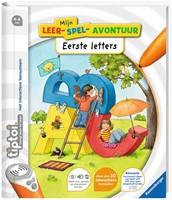 Ravensburger tiptoi boek Mijn leerspel avontuur Eerste letters