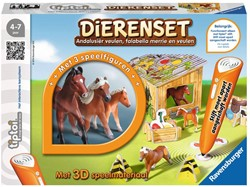 Ravensburger  Tiptoi educatief spel Dierenset Falabella en Andalusier
