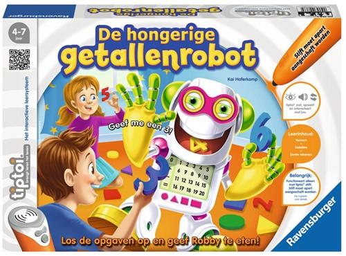 Ravensburger tiptoi spel De hongerige getallenrobot