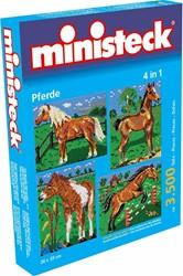 Ministeck  knutselspullen Paard 4 in 1 3500 stukjes
