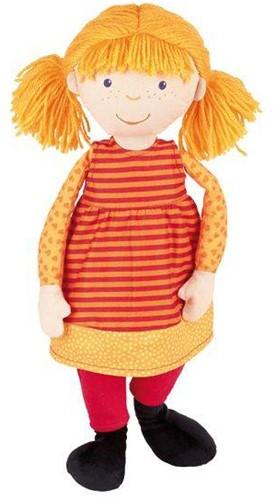 Sigikid  knuffelpop Softdoll Large oranje - 43 cm