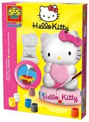 Ses  knutselspullen Gips gieten Hello Kitty