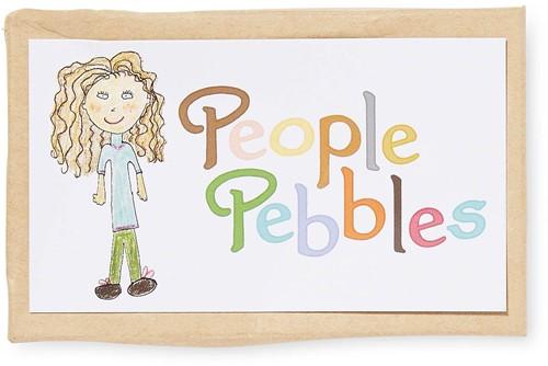 Crayon Rocks teken en verfspullen People Pebbles 12 colors