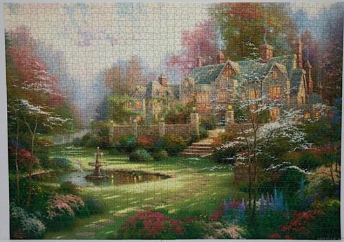 Schmidt legpuzzel Gardens beyond Spring Gate, 2000 stukjes