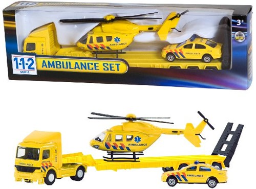 112 Ambulance Set 3 Dlg.