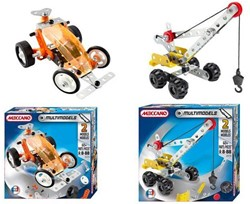 Meccano  constructie speelgoed multimodels 2in1