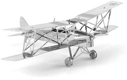 Metal Earth  constructie speelgoed DH82 Tiger Moth