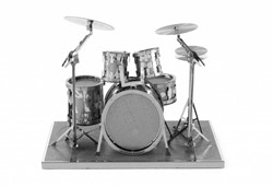 Metal Earth  constructie speelgoed Drum Set