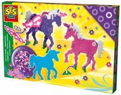 Ses  knutselspullen 3D fantasy paard