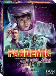Z-man Games coörperatief bordspel Pandemic - In the Lab Expansion - Taal EN