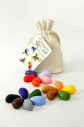 Crayon Rocks  16 Colors In a Cotton Muslin B