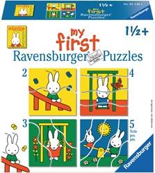 Ravensburger nijntje My first puzzels - 2+3+4+5 stukjes - kinderpuzzel