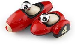 Playforever  speelvoertuig Enzo Motorbike Red Chrome Amy