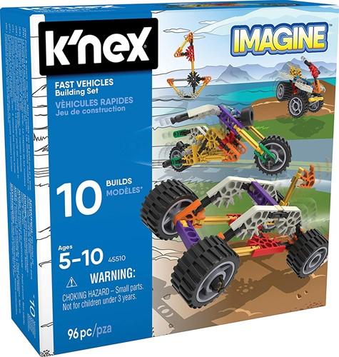 K'nex Building Sets - Fast Vehicles Building Set