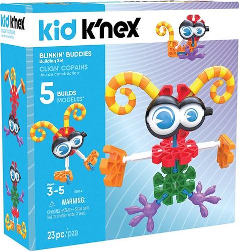 K.nex kid Hippe figuren met 5 modellen