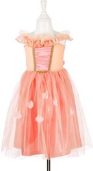 Souza Janette jurk, zalm-koraal roze, 5-7 jaar/110-122 cm