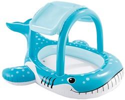 Intex opblaas zwembad met schaduw Walvis 211x185cm