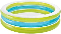 Intex opblaasbaar zwembad met doorzichtige ringen 203x51cm