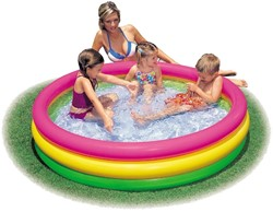 Intex opblaas zwembad Sunset Glow Pool 114x25cm