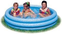 Intex opblaasbaar zwembad Crystal Blue Pool 114x25cm