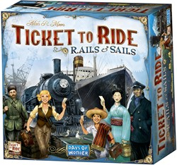 Days of Wonder bordspellen - Ticket to Ride - Rails & Sails