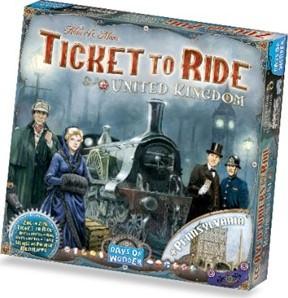 Days of Wonder  bordspel Ticket to Ride - UK-2