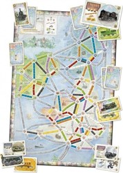 Days of Wonder  bordspel Ticket to Ride - UK