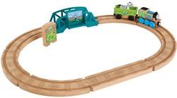 Thomas de Trein houten treinset Dierentuin