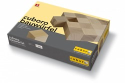 Cuboro houten knikkerbaan set Cuboro building cubes - 120