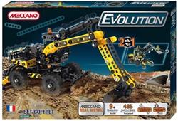 Meccano  constructie speelgoed Evolution 480+ Excavator