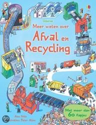 Usborne  educatieboek Meer weten over Afval & recycling