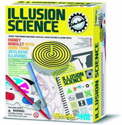 4M wetenschapsdoos Illusion science 8+