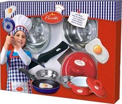 Ses  keuken accessoires Echte pannenset
