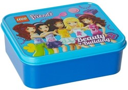 Lego  Friends Lunchbox: Blauw