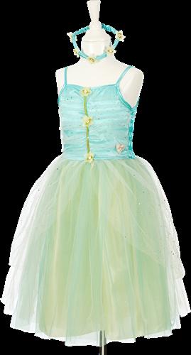 Souza Josiane jurk + losse vleugels + halo, (3-4 jaar), rok lengte 44 cm