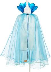 Souza Maryola cape zeemeermin, blauw, 5-7 jaar / 110-116 cm (1 stuk)