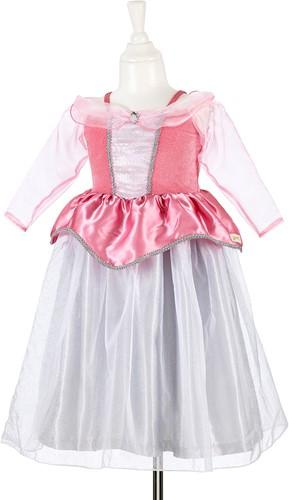 Souza Virginie jurk, roze-zilver, 5-7 jaar/ 110-116 cm (1 stuk)