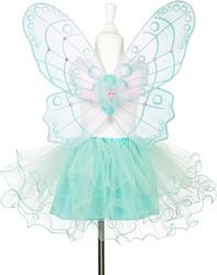 Souza Trisha rok + vleugels, groen, roklengte 33 cm (1 set)