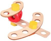 Baufix  houten constructie speelgoed Game 10100-2