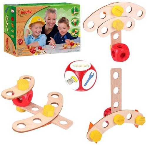 Baufix  houten constructie speelgoed Game 10100-3