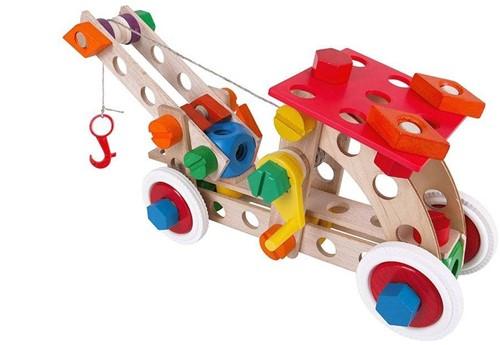 Baufix  houten constructie speelgoed Starter 10 10300-2