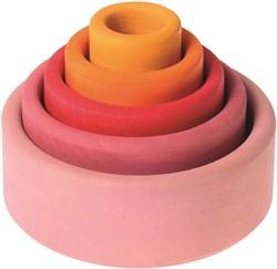 Grimm's set van houten bakjes Lollipop