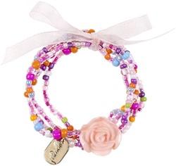 Souza Armband Carli, roze-multi, volledig elastisch (6 kaartjes)