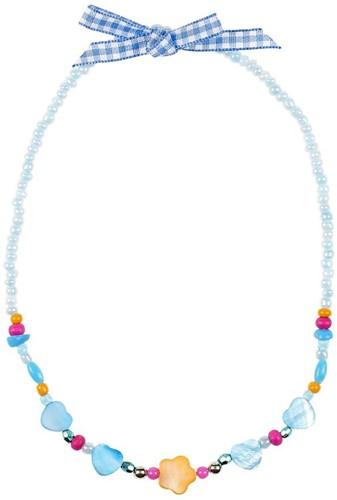Souza Ketting Ciske, blauw-oranje, volledig elastisch (6 stuks)