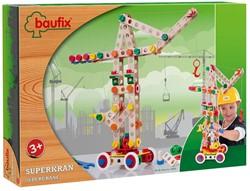 Baufix  houten constructie speelgoed Super Crane 10420